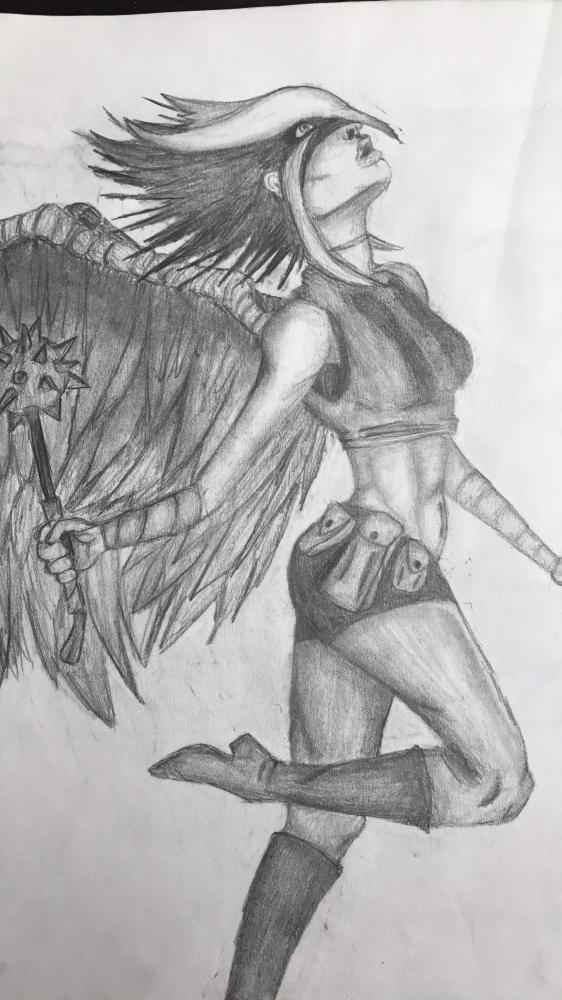 Hawkgirl por HaylieR